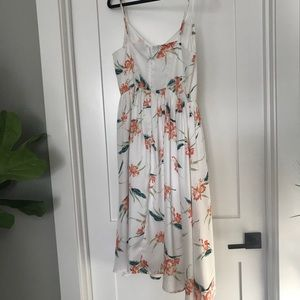BB Dakota Dresses - B.B. Dakota White floral midi dress 8